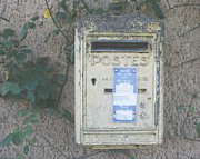 Post Box Framed Prints - La Poste Framed Print by Georgia Fowler