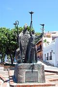 La Rogativa Sculpture Old San Juan Puerto Rico Print by Shawn OBrien