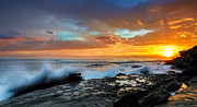 Maroubra Art - La Salida Del Sol by Mark Lucey