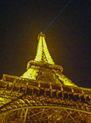 Visible Prints - La Tour Eiffel II Print by Al Bourassa