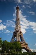Europa Posters - La Tour Eiffel Poster by Inge Johnsson