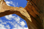 Cloud Framed Prints - La Ventana Natural Arch Framed Print by Christine Till