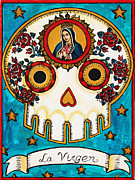 La Virgen Print by Maryann Luera