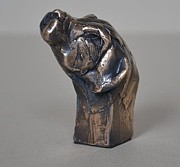 Animal Sculpture Originals - Labrador by Edward  Waites