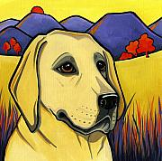Pictures Of Dogs  Prints - Labrador Print by Leanne Wilkes