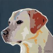Dog Pop Art Paintings - Labrador by Slade Roberts