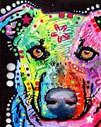 Mix Mixed Media - Labradorish by Dean Russo