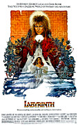 Movies Prints - Labyrinth, David Bowie, Jennifer Print by Everett