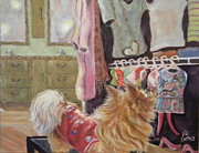 Chiwawa Paintings - Lacis Closet by Liz Dettrey