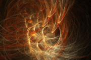 Fractal Geometry Digital Art Originals - Lacunae by William Wright