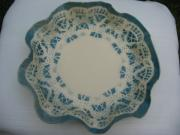 Free Form Ceramics - Lacy Platter by Julia Van Dine