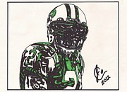 New York Jets Prints - Ladainian Tomlinson 2 Print by Jeremiah Colley