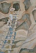 Ruins Originals - Ladder to the Past by Jenny Armitage