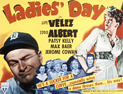 Ladies Day, Eddie Albert, Patsy Kelly Print by Everett