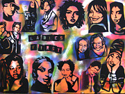 Conscious Paintings - Ladies First  by Tony B Conscious