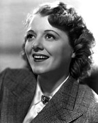 1936 Movies Prints - Ladies In Love, Janet Gaynor, 1936 Print by Everett
