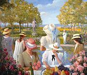 David Olander - Ladies in the garden