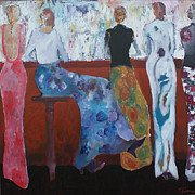 Night Out Painting Originals - Ladies Night by Terry Alford