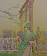 Woman - Lady and the Flatiron by Gary Kaemmer