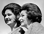 First Ladies Posters - Lady Bird Johnson, The First Lady Poster by Everett