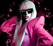 Pride Digital Art - Lady Gaga by GBS by Anibal Diaz