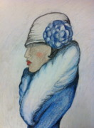 1920 Originals - Lady in Blue by Melody Anderson