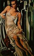 Tamara di Lempicka - Lady in Lace