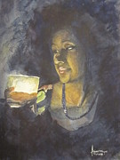 Light And Dark   Originals - Lady in Light by Arjoon KC