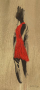 Elisabete Pontes de Oliveira - Lady in red