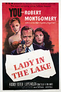 Lady In Lake Posters - Lady In The Lake, Audrey Totter, Robert Poster by Everett