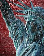 Alan Schwartz - Lady Liberty in the Rain