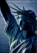 Lady Liberty Print by Kevin  Sherf
