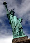Liberty Island Digital Art - Lady Liberty by William  Todd