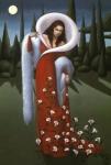 Lady Lily Print by Jane Whiting Chrzanoska