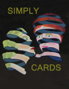 Simply Cards Prints - Lady Lovers Print by Eric Kempson