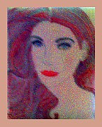 Oils Pastels - Lady of Beauty by De Beall