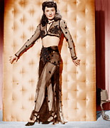 See-through Clothes Prints - Lady Of Burlesque, Barbara Stanwyck Print by Everett