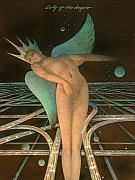 Female Nude - Lady of the Angels by Gary Kaemmer