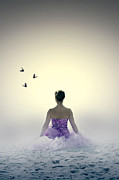 Butterfly Photo Posters - Lady On The Beach Poster by Joana Kruse
