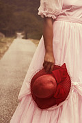 Wedding Dress Photos - Lady With Hat by Joana Kruse