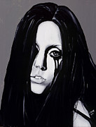 Lady Gaga Painting Originals - Ladygaga by Leeann Stumpf