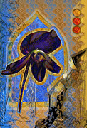 Medieval Mixed Media Posters - Ladyslipper Chapel Poster by Yolanda Fundora