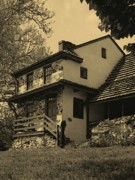 Pennsylvania Photographs Prints - Lafayettes Headquarters in Sepia Print by Gordon Beck