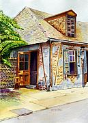 Lafittes Paintings - Lafittes of New Orleans by Karen Fleschler