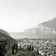 Mountains Art - Lago Di Garda by Esther Czech