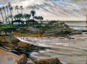 Plein Air Pastels Prints - Laguna Beach 91 Print by Donald Maier
