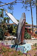 Paul Velgos - Laguna Beach Breached Whale Sculpture