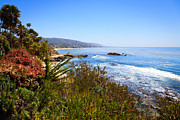 Laguna Beach Posters - Laguna Beach California Coastline Poster by Paul Velgos
