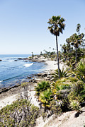 Pacific Coast Beach Framed Prints - Laguna Beach California Heisler Park Framed Print by Paul Velgos