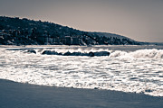 Homes Photo Framed Prints - Laguna Beach California Photo Framed Print by Paul Velgos
